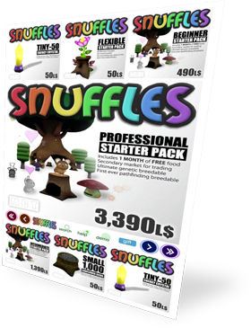 Snuffles Items in Second Life